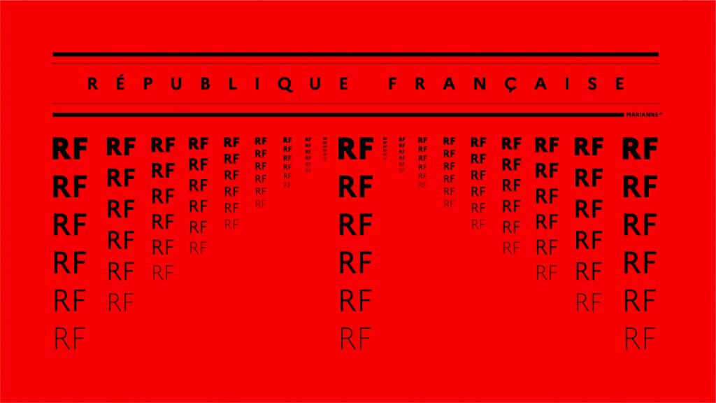 gobierno francés identidad corporativa