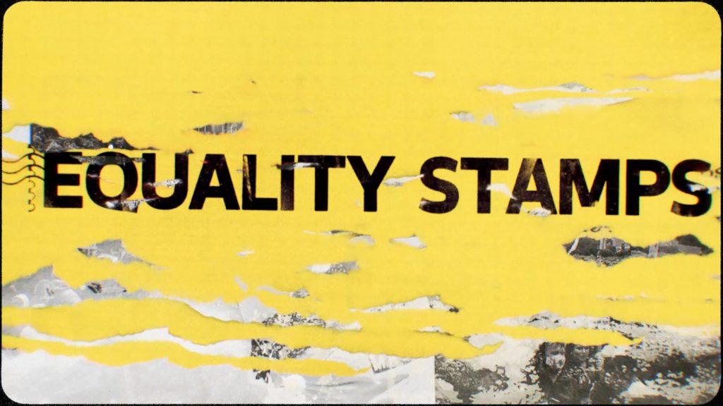 sellos racismo correos. Equality Stamps