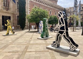 Esculturas de Julian Opie