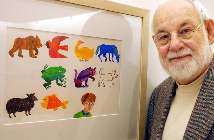 Muere el ilustrador Erik Carle