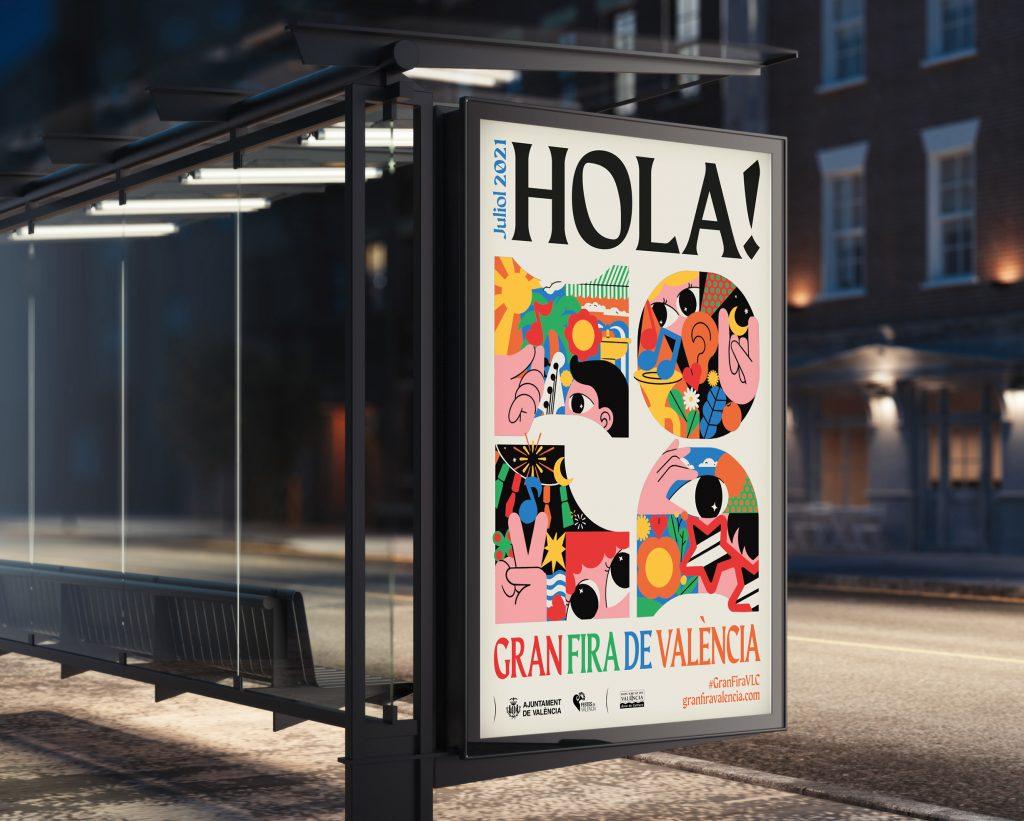 cartel fira de valència 2021