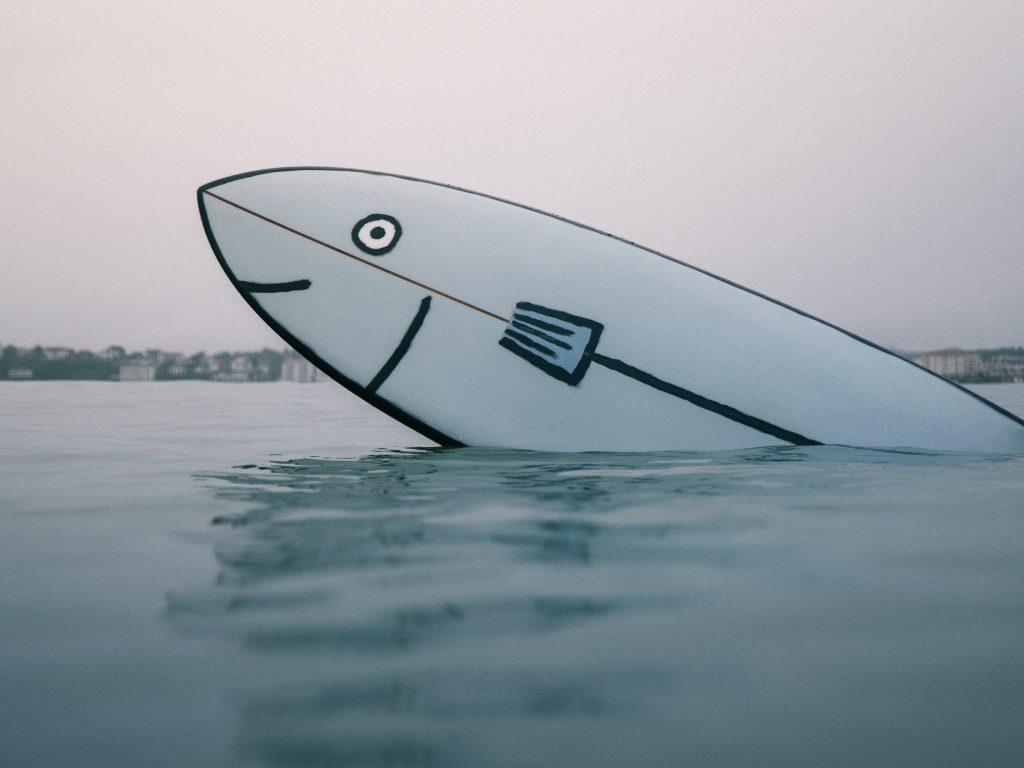 tablas de surf minimalistas