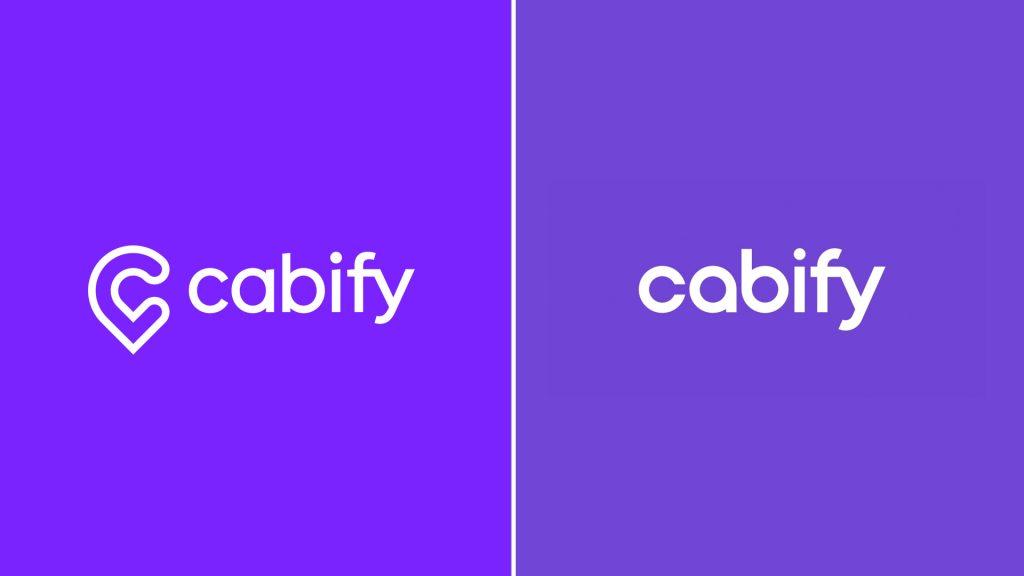 Viejo / Nuevo logo de Cabify