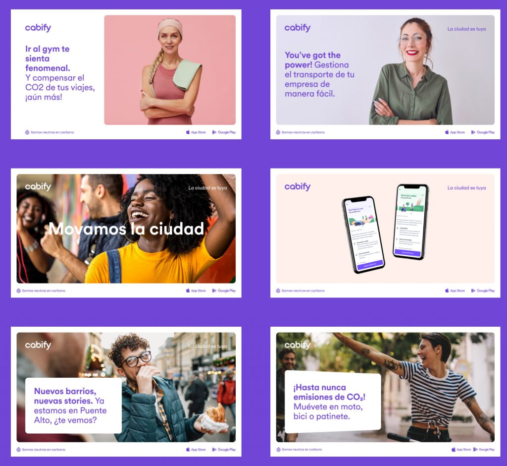 Nuevo tono de voz para el branding de Cabify