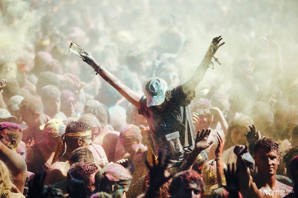 retratar la emoción de un festival