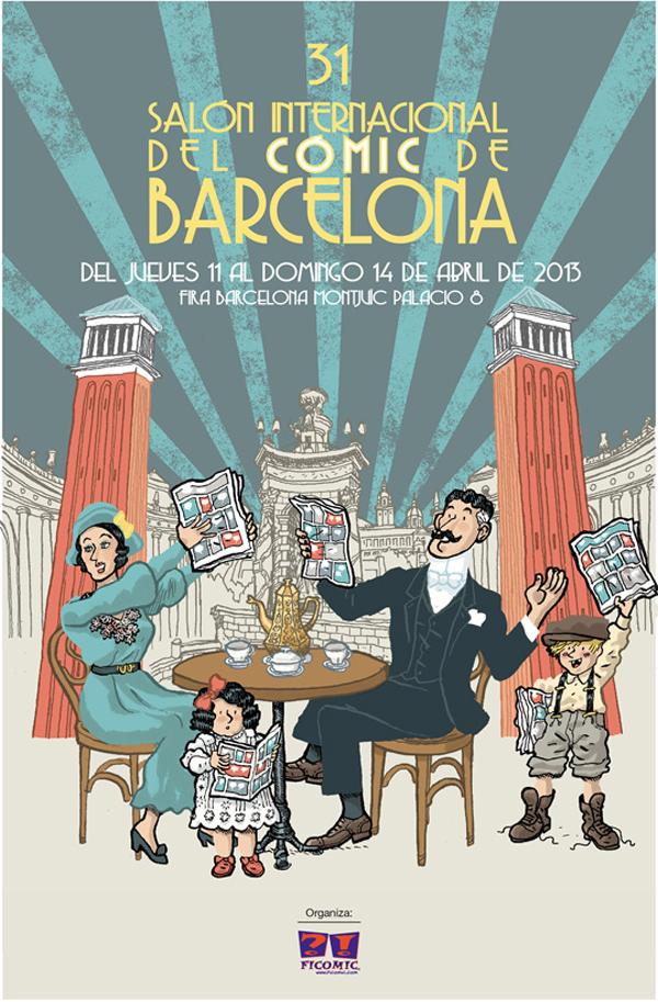 31 Saló del Cómic de Barcelona