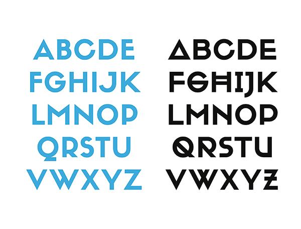 Siffon Font, fuente display en sus dos versiones