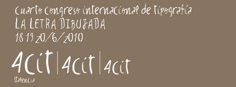 Abierta la inscripción del 4º Congreso Internacional de Tipografía