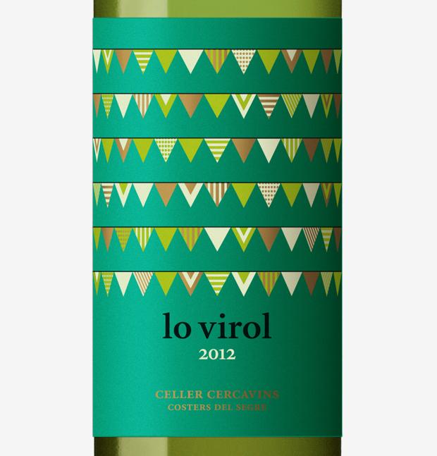 Lo Virol, vino blanco detalle