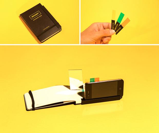 Abracadabrapp, la primera notebook Moleskine para iPhone (y analógica)