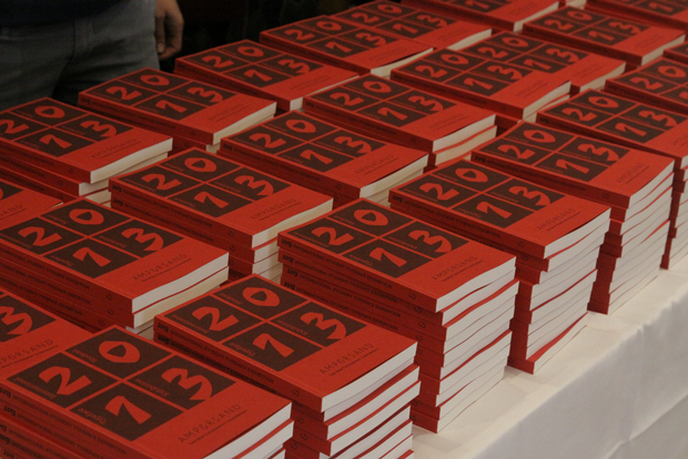 Ampersand, libros de la exposición