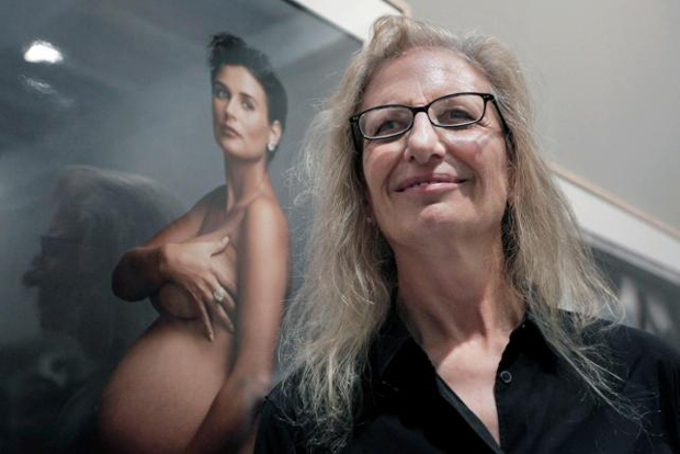 Retrato de la fotógrafa Annie Leibovitz