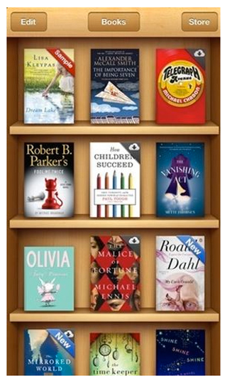 Apple, ibooks store