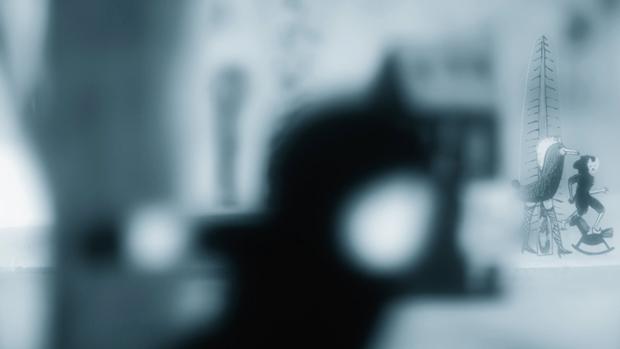 Fotograma del corto Astigmatismo en el que muestra el mundo desenfocado