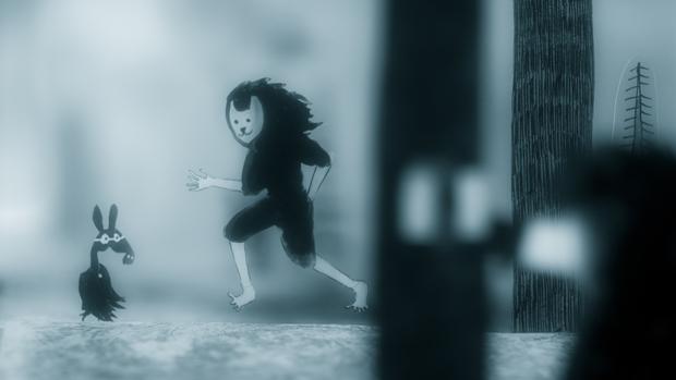 Personaje animado en el cortometraje Astigmatismo de Nicolai Troshinsky
