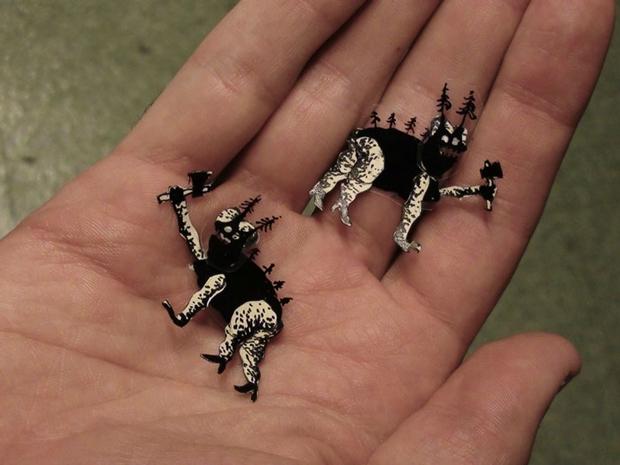 marioneta utilizada en el corto Astigmatismo, de Nicolai Troshinsky
