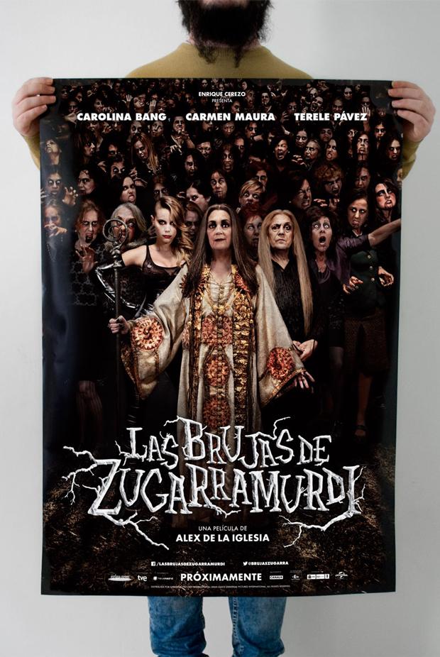 Barfutura Brujas de Zugarramurdi Sergio González [Barfutura]: «El cartel de una película es como el envoltorio de un caramelo»