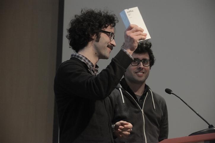 Brosmind Entrega Premios gràffica 2011: «Es una gran sorpresa recibir un premio al que no te has presentado»