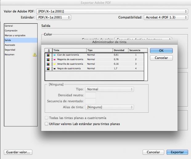 Exportar PDF