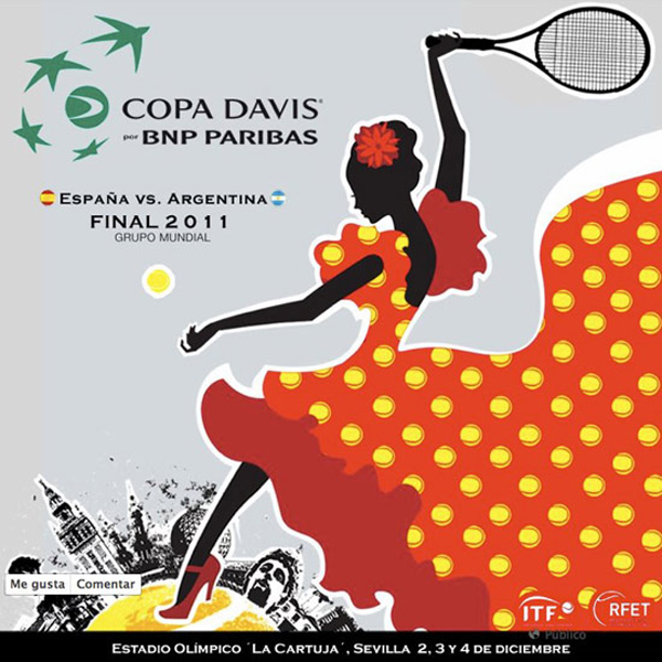 Cartel Copa Davis sevillana