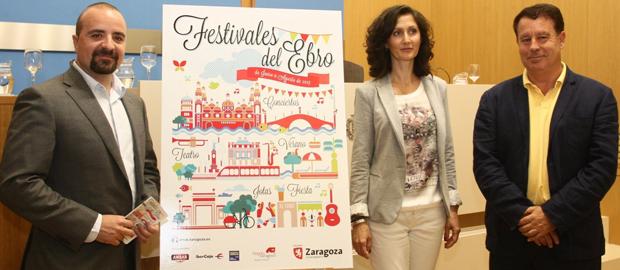 CoCos, Festivales del Ebro cartel