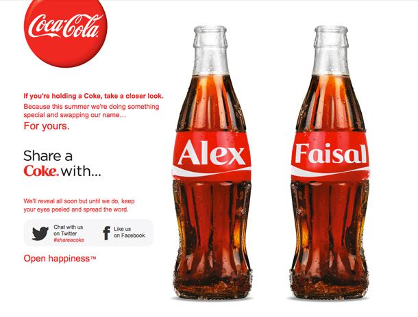 Coca-Cola cambia de nombre en Reino Unido
