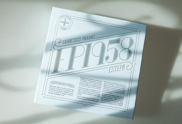 Packaging estuche pequeño FP1958 diseño de Habermas