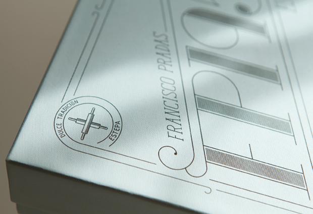 mantecados de Estepa FP1958 diseño de Habermas