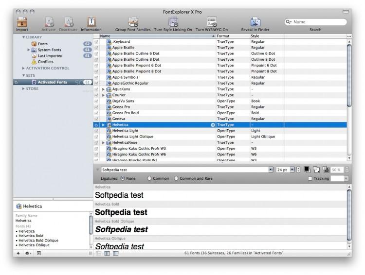 FontExplorer X Pro 1 750x566 Los gestores tipográficos que debes conocer