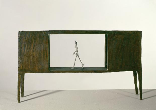 Giacometti, terrenos de juego