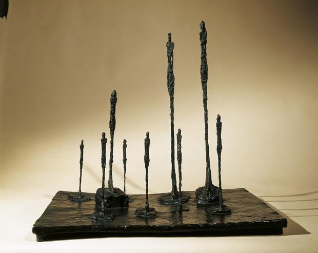 Giacometti, escultura