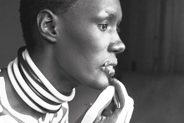 Grace Jones fotografiada por