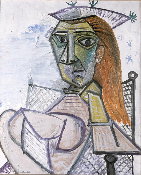 Picasso, Femme assise dans un fauteil o