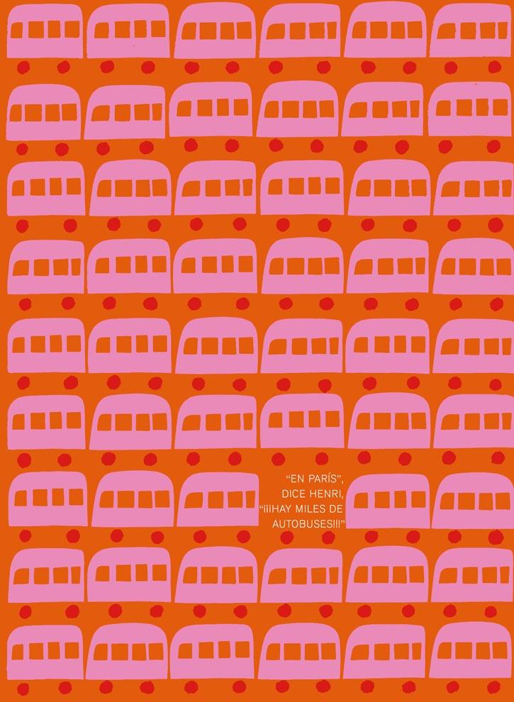 'Henri viaja a París', el cuento ilustrado de Saul Bass