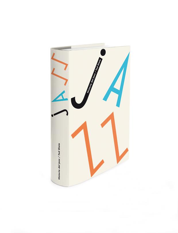 Historia del Jazz, diseño de Ena Cardenal