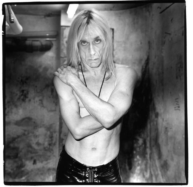 Renaud Monfourny, foto retrato Iggy Pop