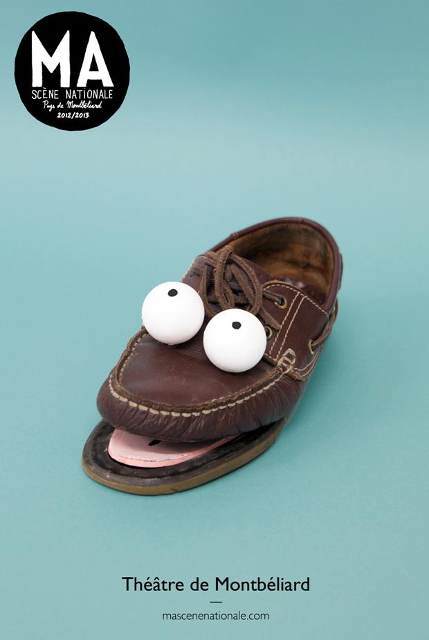 Jean Jullien, ilustración zapatos