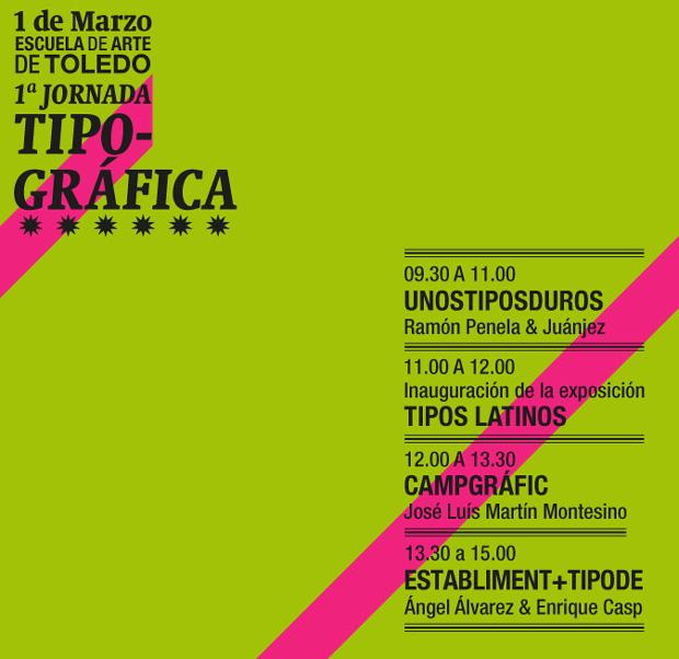 1ª Jornada Tipográfica Toledo