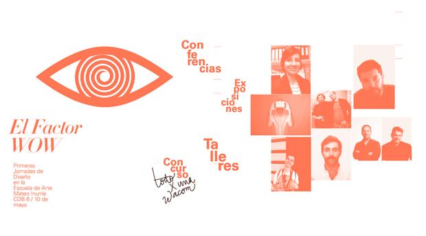 Cartel de las Primeras Jornadas de Diseño de Córdoba