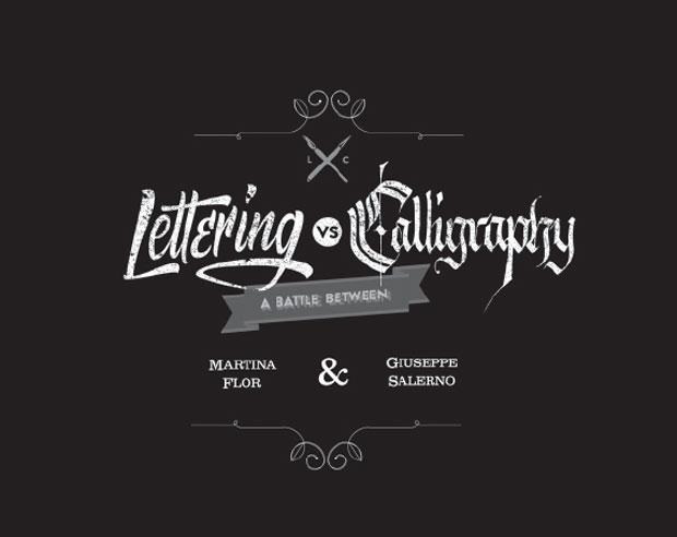 Lettering vs Calligraphy, el diálogo visual entre una letrista y un calígrafo