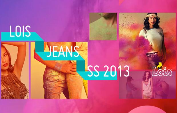 diseño web de Nectar Studio para Lois Jeans