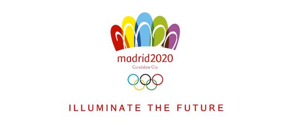 Candidatura Madrid 2020 logo-chanclas