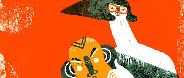 Malota, ilustración