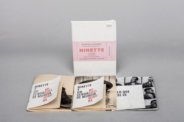 Ninette y un señor de Murcia, proyecto del diseñador Jorge Fernández Puebla