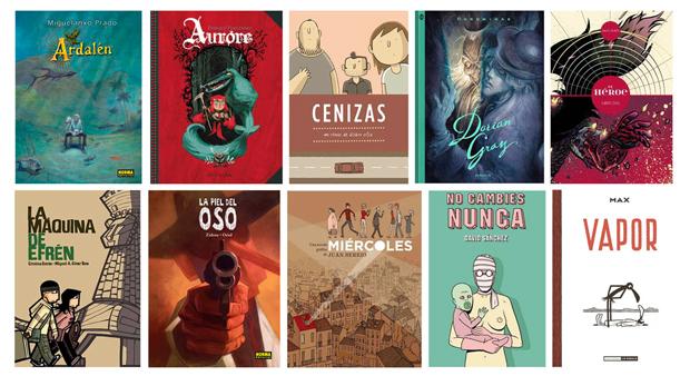 Nominados Comic 2013 Nominados a los premios del 31 Salón Internacional del Cómic de Barcelona