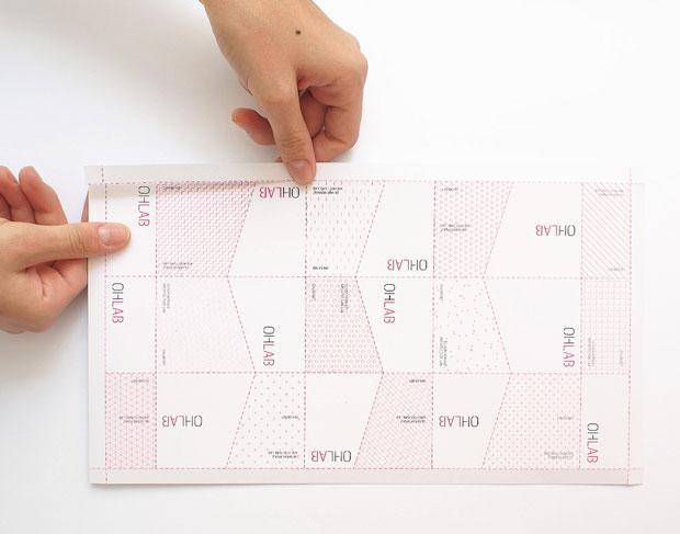 1x1.trans OHLAB, una identidad gráfica de tramas arquitectónicas