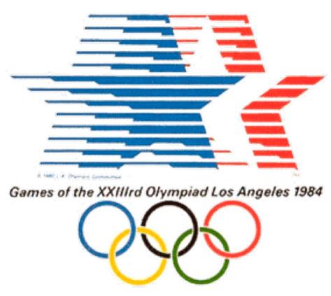 Olimpiadas 18 Los Angeles La historia de las Olimpiadas contadas gráficamente (2ª parte)