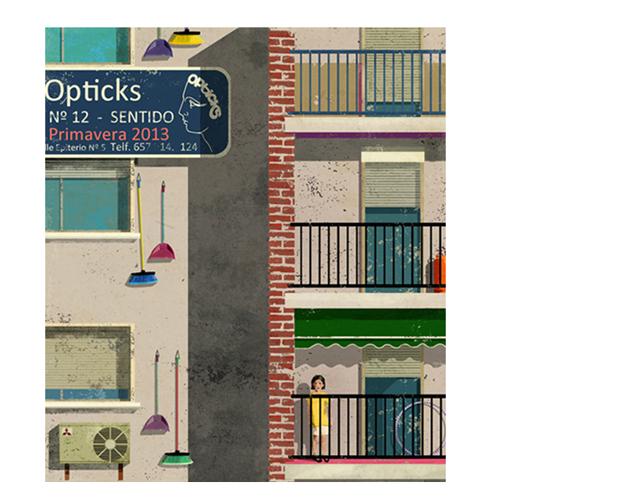 Opticks Magazine, portada