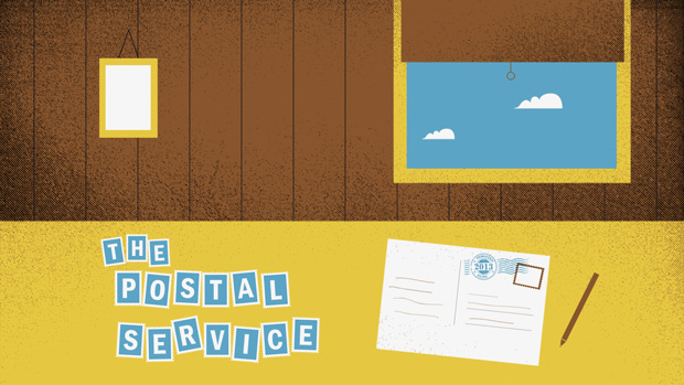 Primavera Sound: cartel ilustrado The Postal Service