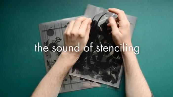El sonido del 'stenciling'